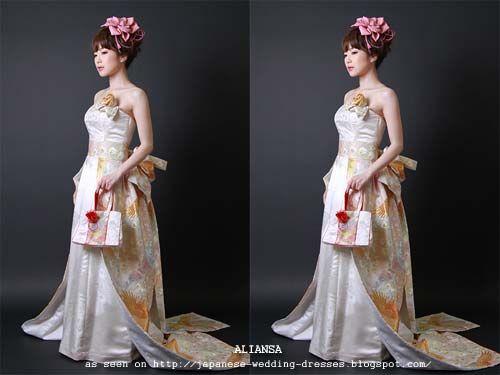 Modern Japanese Topless Kimono for Wedding | Japan | Pinterest ...