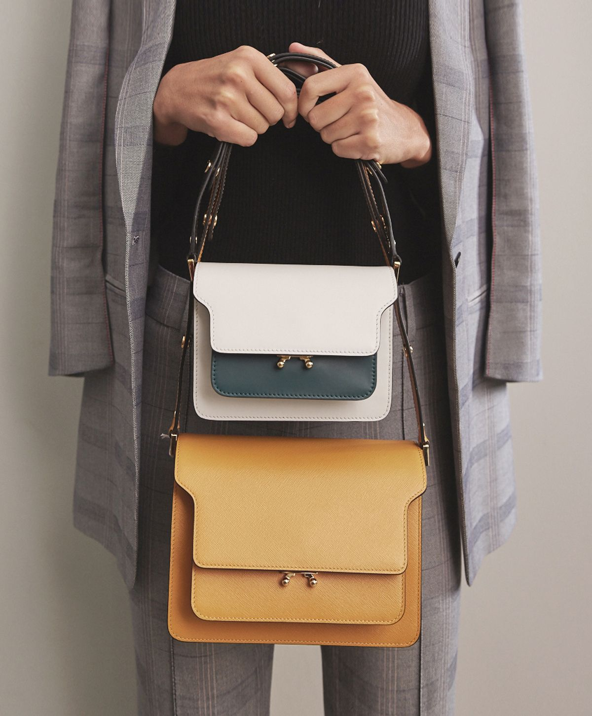 17479cf4a67d Two bags are better than one, especially when its Marni. Shop Marni at  Farfetch.