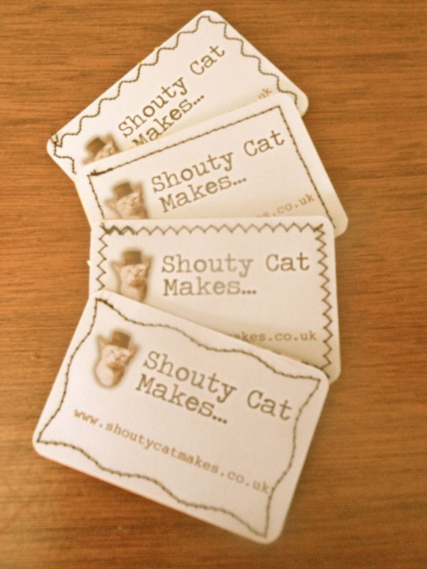 Homemade business cards   Cards   Pinterest   Homemade business and ...