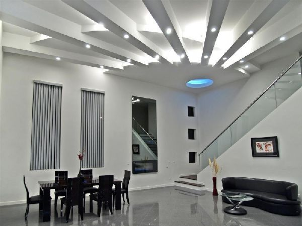 Dining with cool ceiling lighting ideas at contemporary and luxury dining with cool ceiling lighting ideas at contemporary and luxury tenaya residence in las vegas design aloadofball Gallery