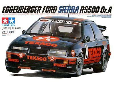 Boxart Ford Sierra Rs500 Gr A 24080 Tamiya Autos Maquetas