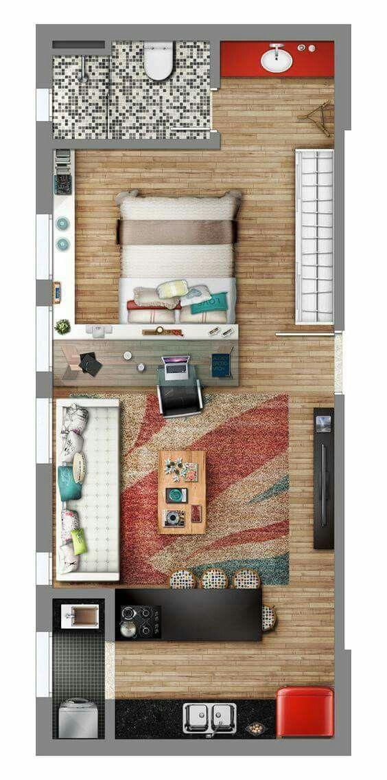 Wohnung nur für Dich - ein Zimmer über Alles arch Pinterest
