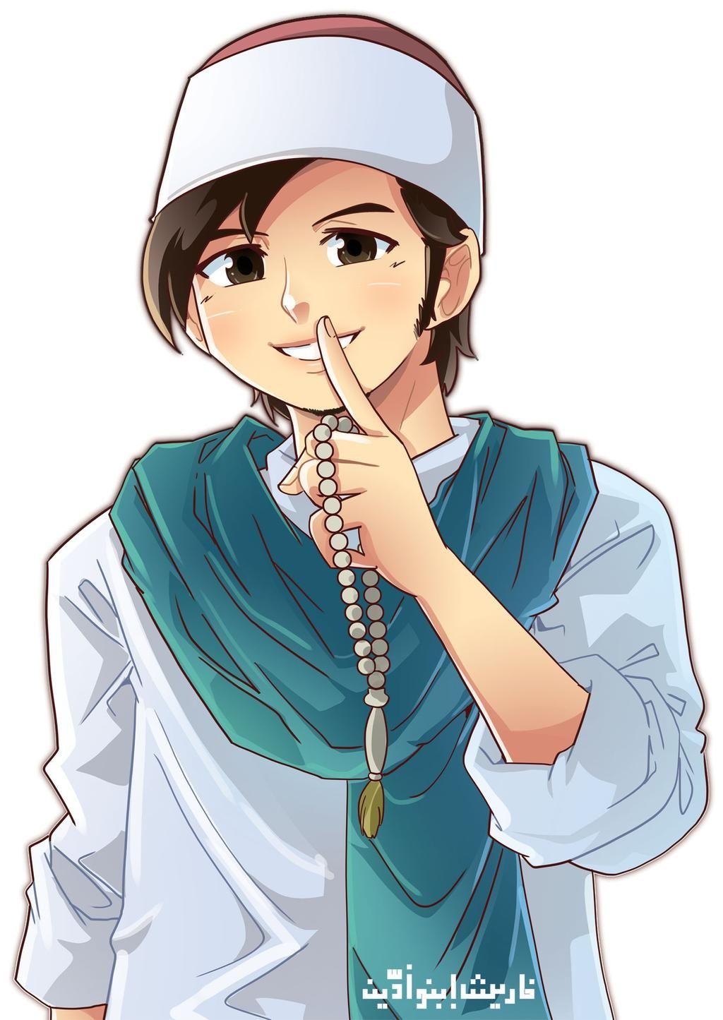 Pin On Anime Muslim