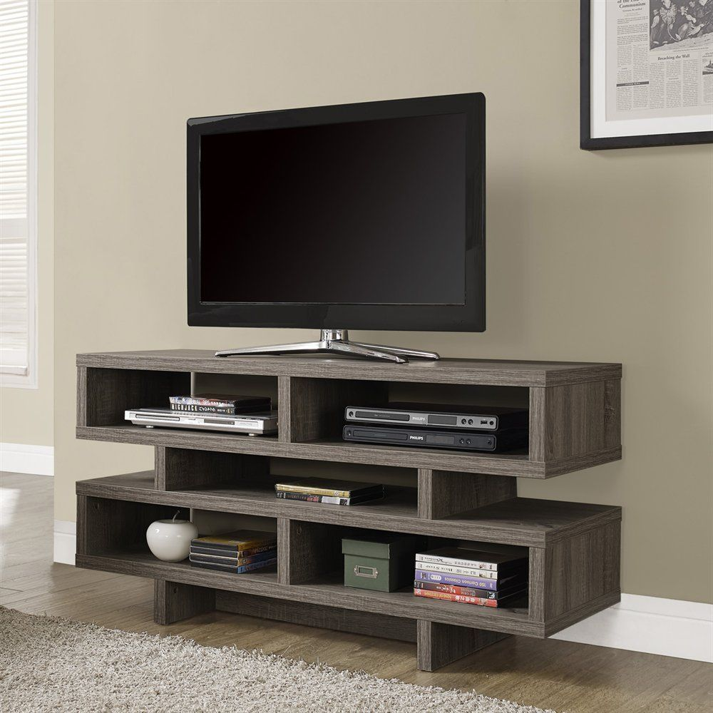 Monarch Specialties I 246 Hollow-Core 48-in TV Console | Lowe's Canada