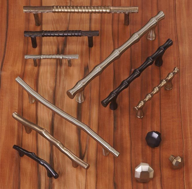 The Natural Series Of Solid Bronze Decorative Cabinet Hardware By