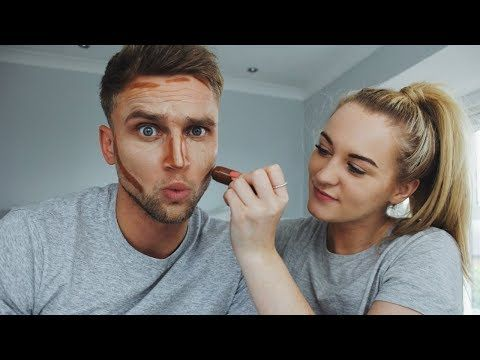 Men's Makeup Tutorial | Trying Contouring For The First ...