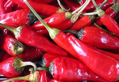 Chili peppers can stimulate the nervous system and enhance the feelings of sexual arousal