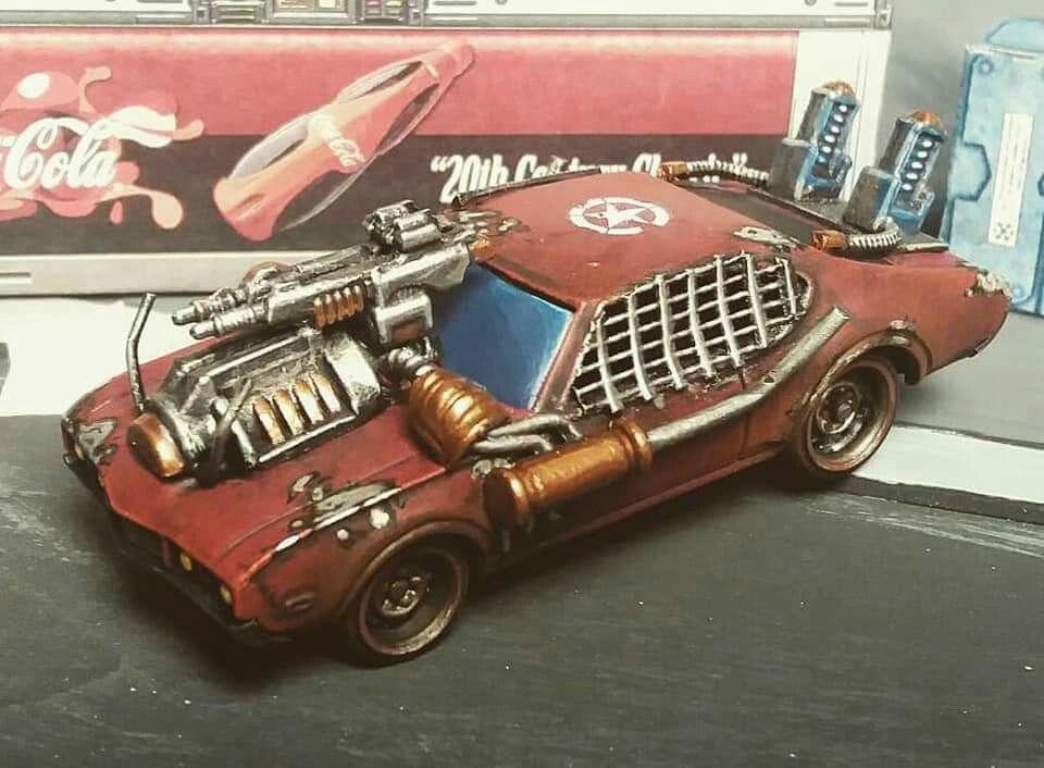 Mad Max Custom hot wheels, Monster car