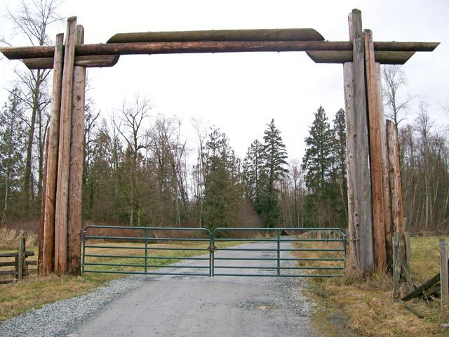 This Is A Large Ranch Style Gate We Installed At Our