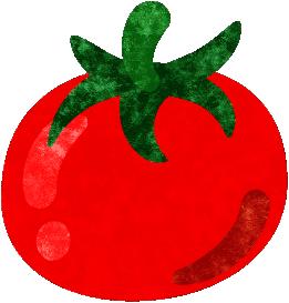 トマトのイラスト トマト イラスト クリスマス オーナメント イラスト
