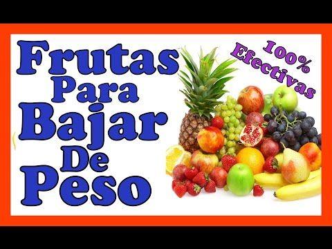 Frutas k te ayudan a bajar de peso