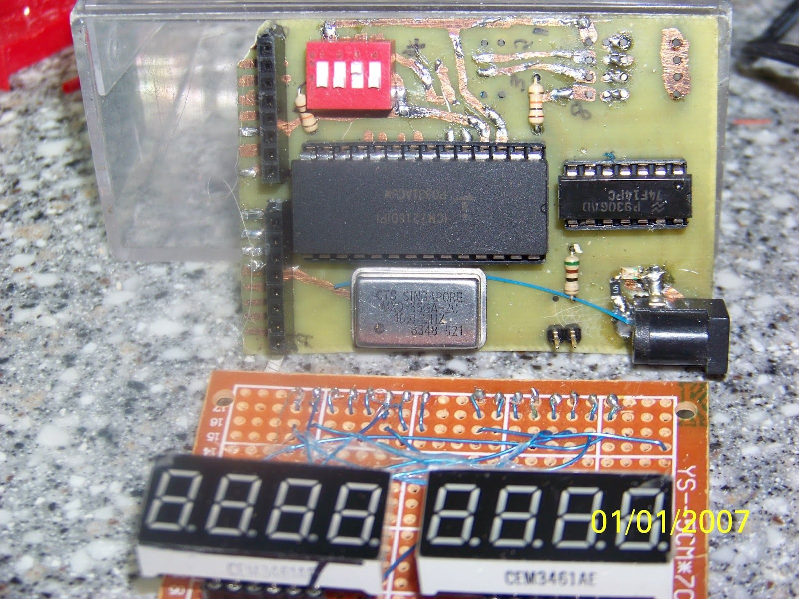 Icm7216 Freq Counter Project Electronic Projects Pinterest 10mhz Frequency Circuit