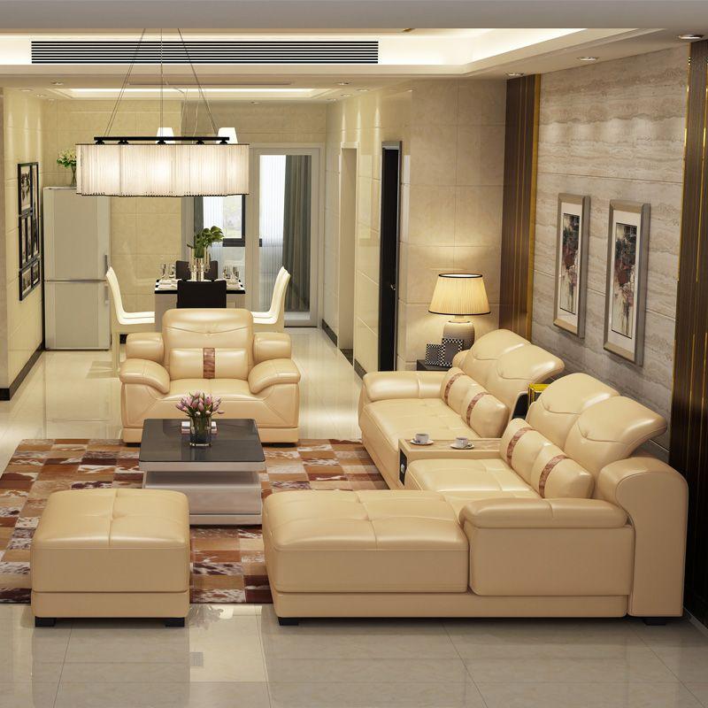 L Shaped Sofa In 2020 Luxury Sofa Design Stylish Living Room Corner Sofa Living Room