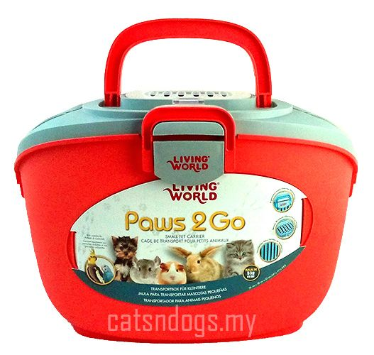 living world paws go small pet carrier pc us  living world paws 2 go small pet carrier pc60899 us 12 84 catsndogs