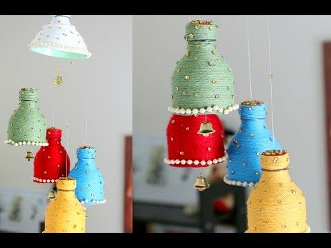 use waste material to make something which is useful or decorative