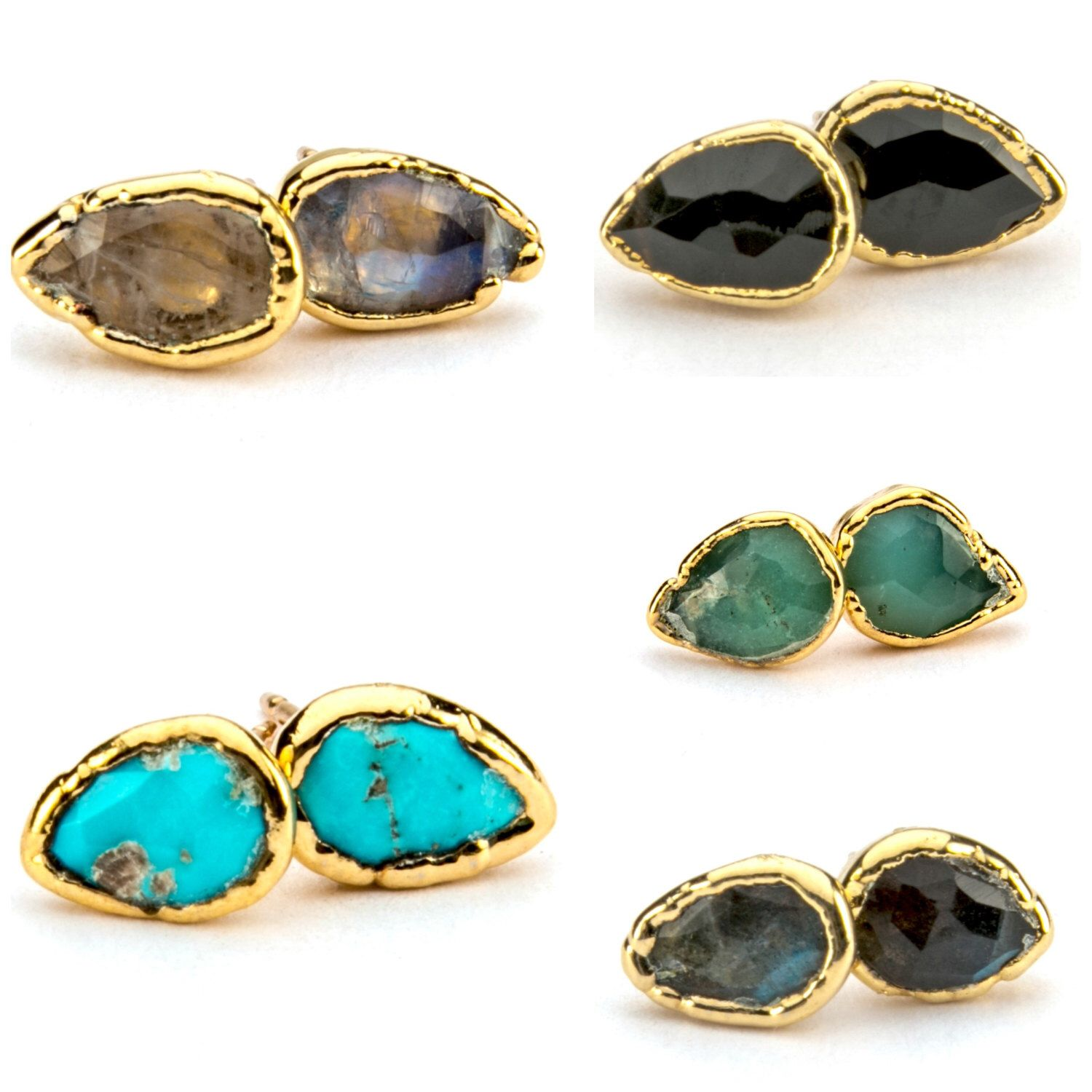 agate aquamarine jewelry docona handmade stud tiger pendientes brincos round quartz for women candy from item fashion earrings natural earring trendy in studs stone eye gems