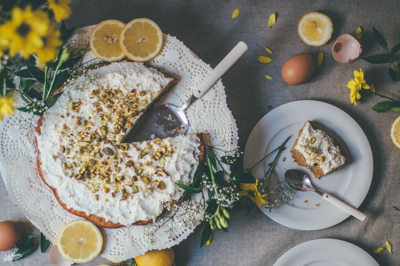 Ricotta Cake for Celebration | Styling & Photography on Behance