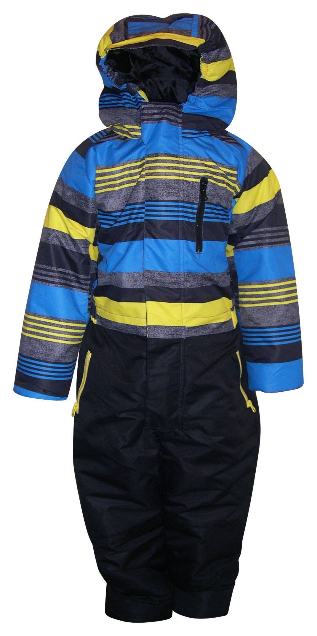 a19b453d4f03 Pulse Little Boys and Toddler 1 Piece Snowsuit Coveralls Dash ...