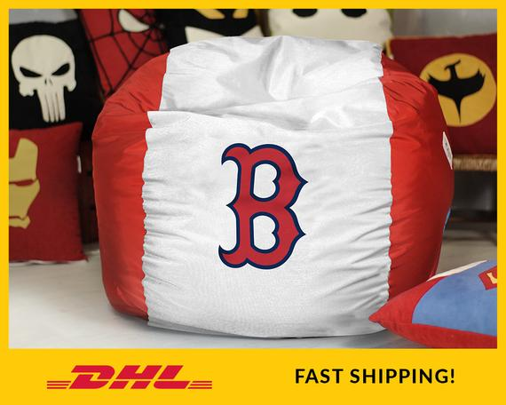 Sensational Boston Red Sox Bean Bag Chair Cover Mlb Bean Bag Red Sox Alphanode Cool Chair Designs And Ideas Alphanodeonline