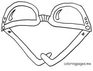 Sunglasses Coloring Sheet Coloring Pages Books For Tweens Coloring Pages Color