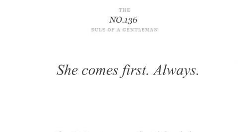 Billedresultat for rules of a gentleman