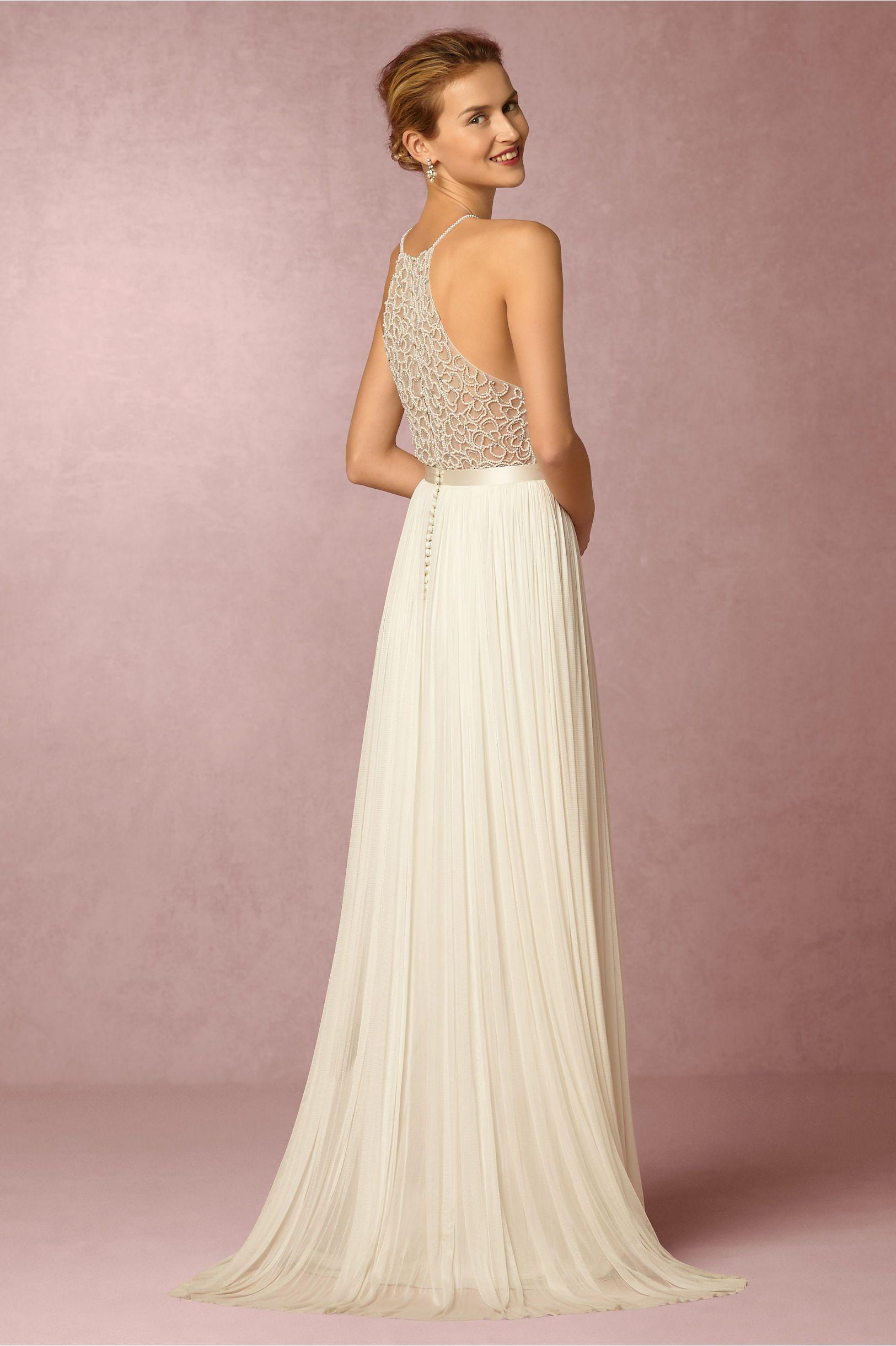 8e86e441ecd BHLDN Ashlyn Top   Anika Tulle Skirt in Bride Bridal Separates at BHLDN