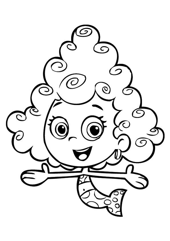 print coloring image | bubble guppies | Pinterest | Colores, Guppies ...