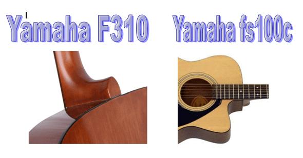 Yamaha F310 Vs Fs100c Comparison Which Guitar Is Better Yamaha F310 Yamaha Guitar