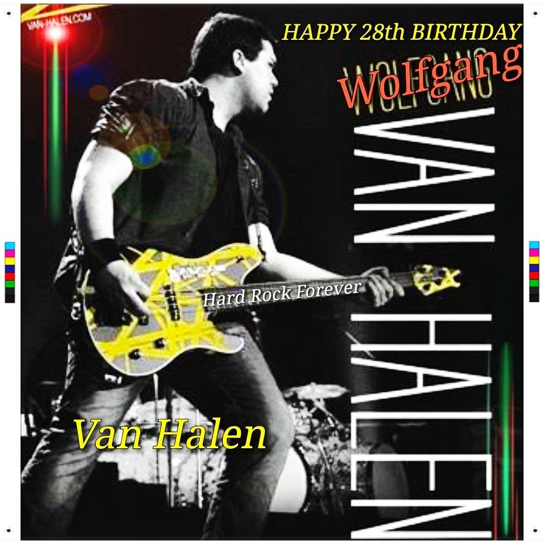 Wolfgang William Van Halen Born March 16 1991 Is An American Musician Who Is Currently The Bassist For Van Halen Having Replaced Michael Anthony In