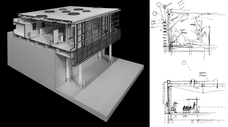 Miller Hull   University Of Michigan, Art + Architecture Building Addition  | Sketch Arq | Pinterest | Maquetes