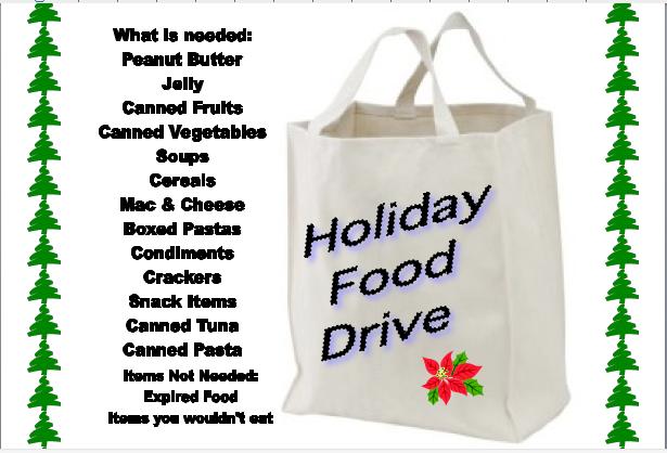 christmas food drive poster - photo #27