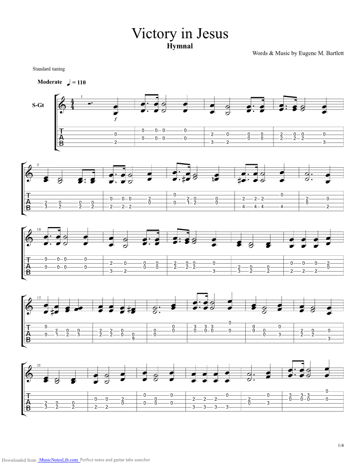 victory in jesus guitar pro tab by hymnal guitar in 2019 guitar songs. Black Bedroom Furniture Sets. Home Design Ideas