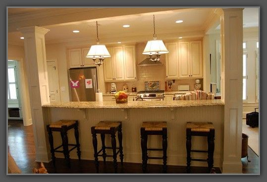 Galley Kitchen Remodel Remove Wall HouseReno Ideas In 2019 Galley Kitchen Remodel Kitchen