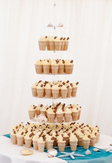 Ice cream cone cake 20 amazing alternative wedding cake ideas