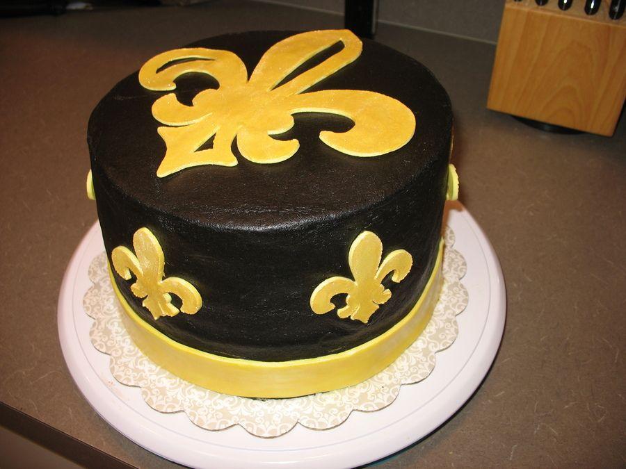 Saints Cake! (pic only)   Cakes   Pinterest   Saints, Cake and Cake ...
