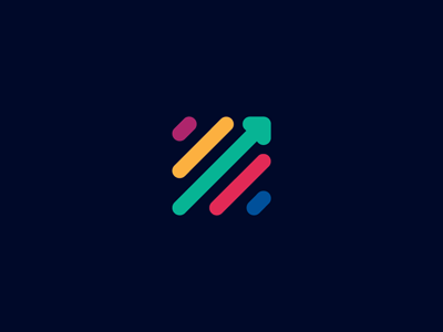 Unused logo proposal for a young financial startup :)
