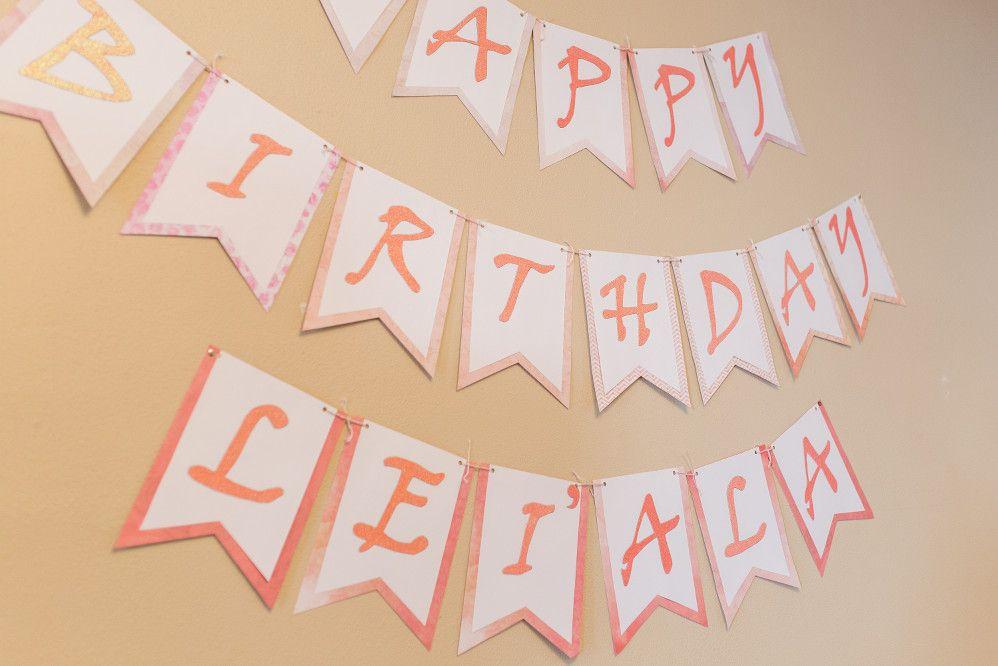 Chinese Birthday, Pink Ombre, Dragon, Lanterns, 1st Birthday, First Birthday, Baby Girl