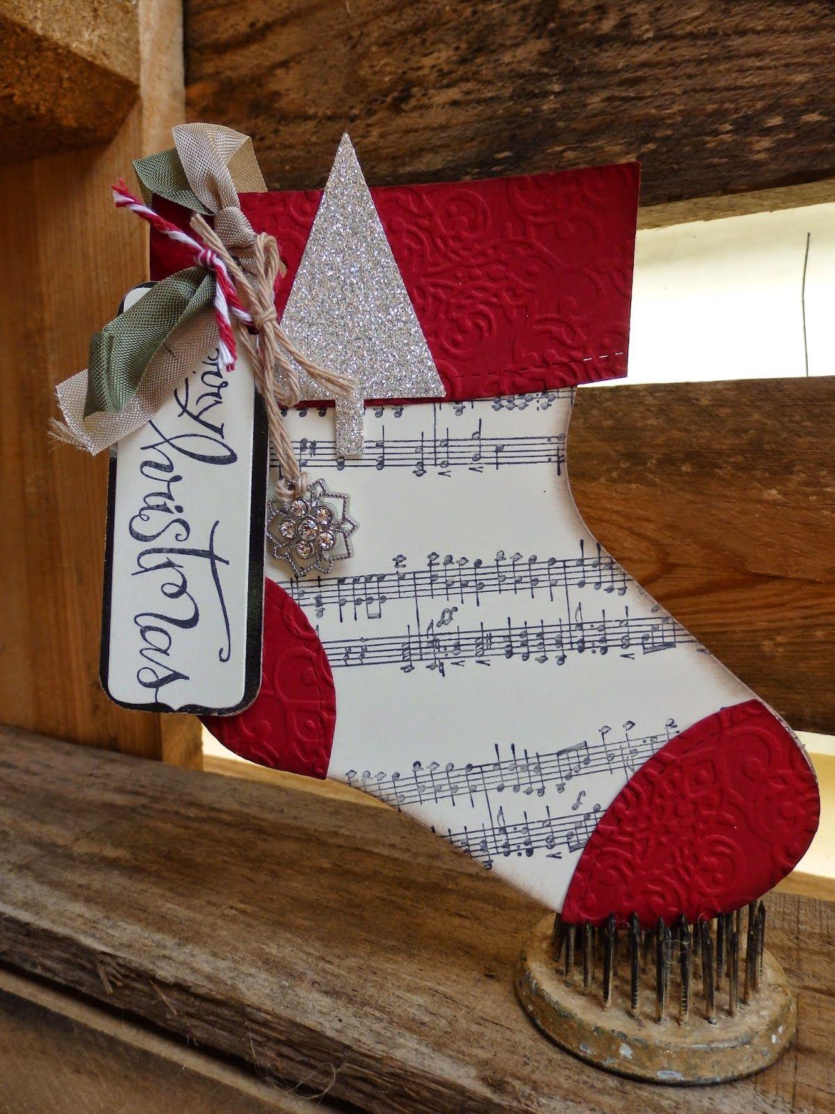 Felicity's Craft Corner: Stampin Up Holiday Stocking