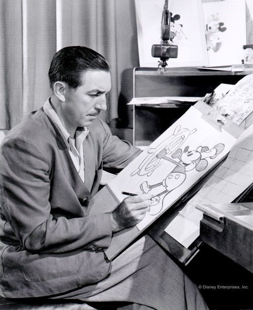 Walt Disney. He is one of my most favorite people