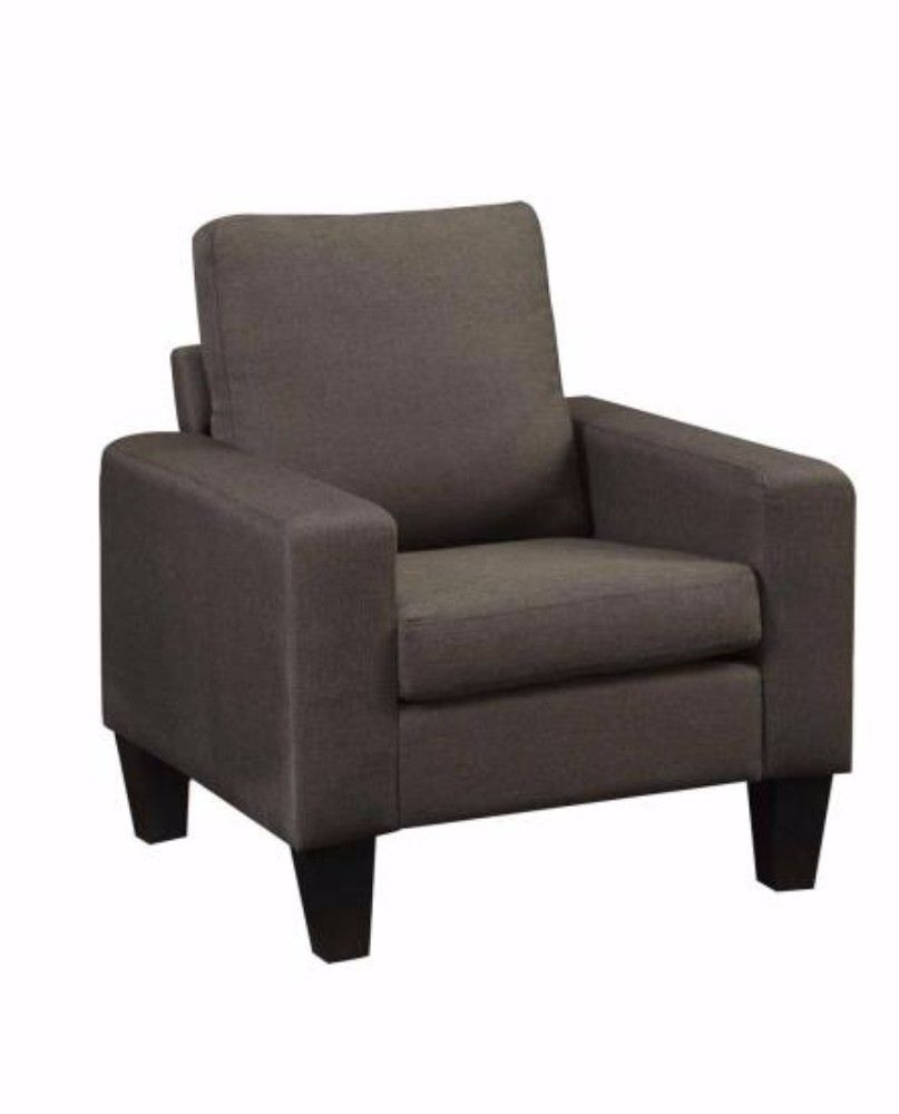 Bachman Transitional Chair In Grey