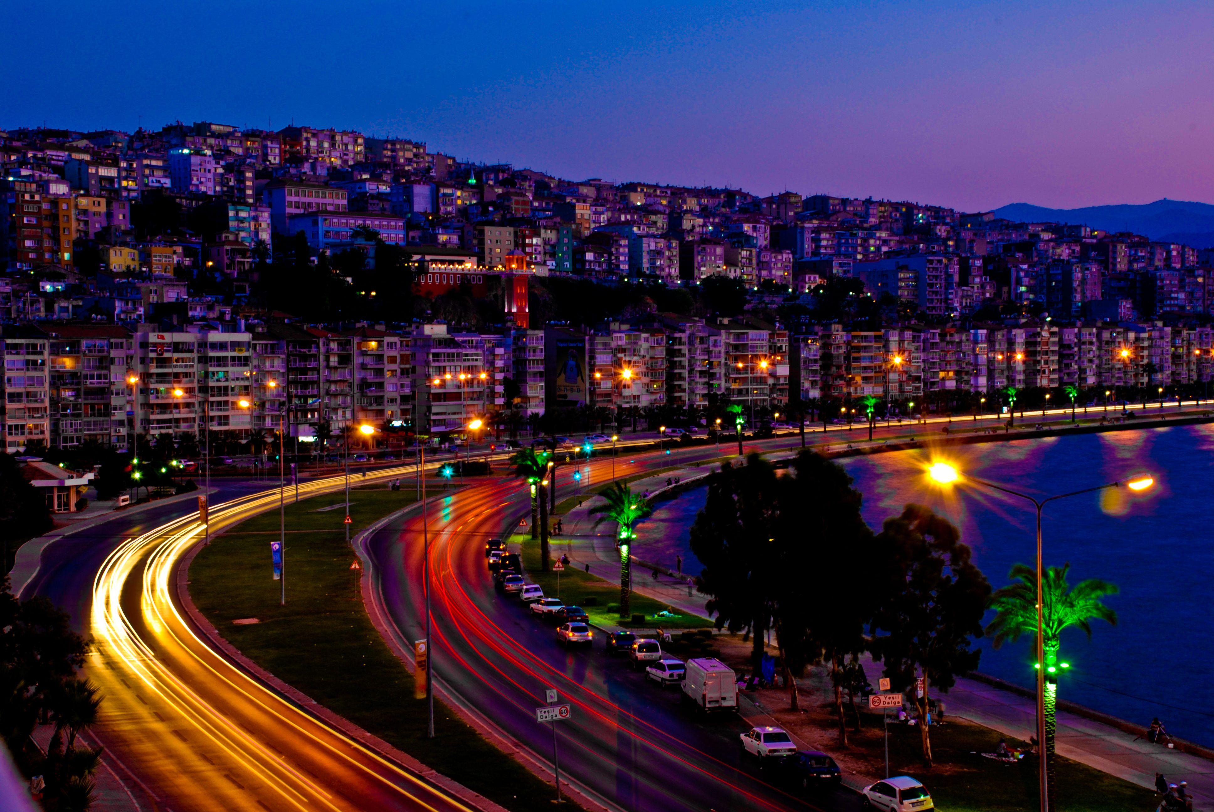 İzmir Agora Harabeleri 3 Boyutlu Duvar Kağıdı