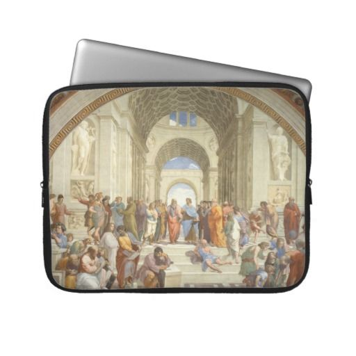 Raphael - School of Athens Computer Sleeves