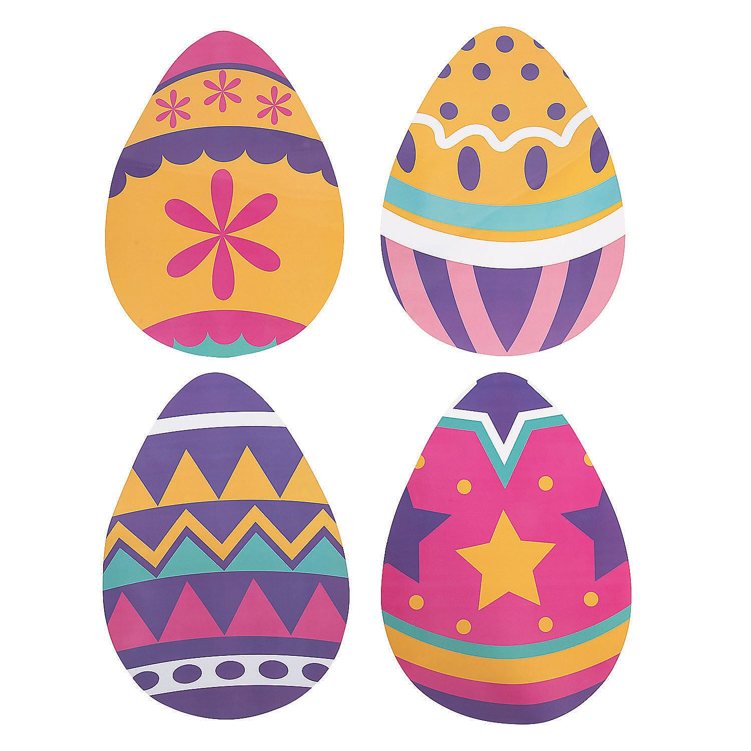 12 Pieces Containers /& Boxes Party Supplies Plastic Containers Filled Resurrection Eggs for Easter Fun Express Easter