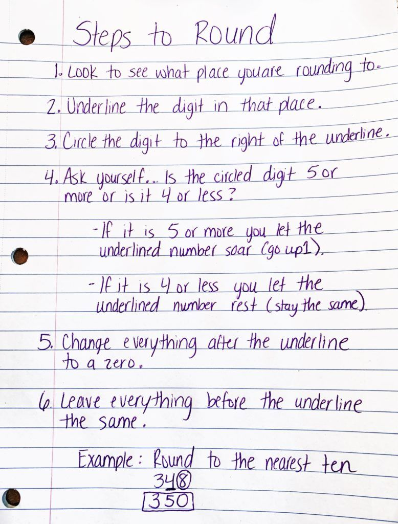 Over The Years I Have Tried Many Strategies For Rounding Numbers To The Nearest Ten To The Nearest Hund Rounding Numbers Math Methods Teaching Math Elementary [ 1024 x 778 Pixel ]