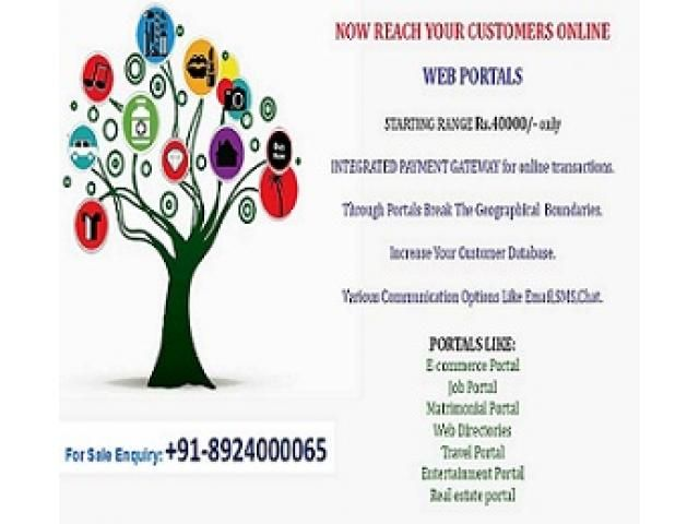 Web portals at just Rs 40000/- - Prince Classified | Post Free