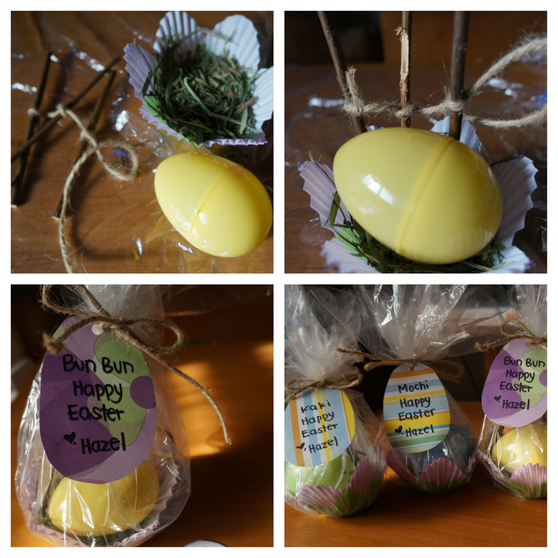 Easter goodies for the bunnies