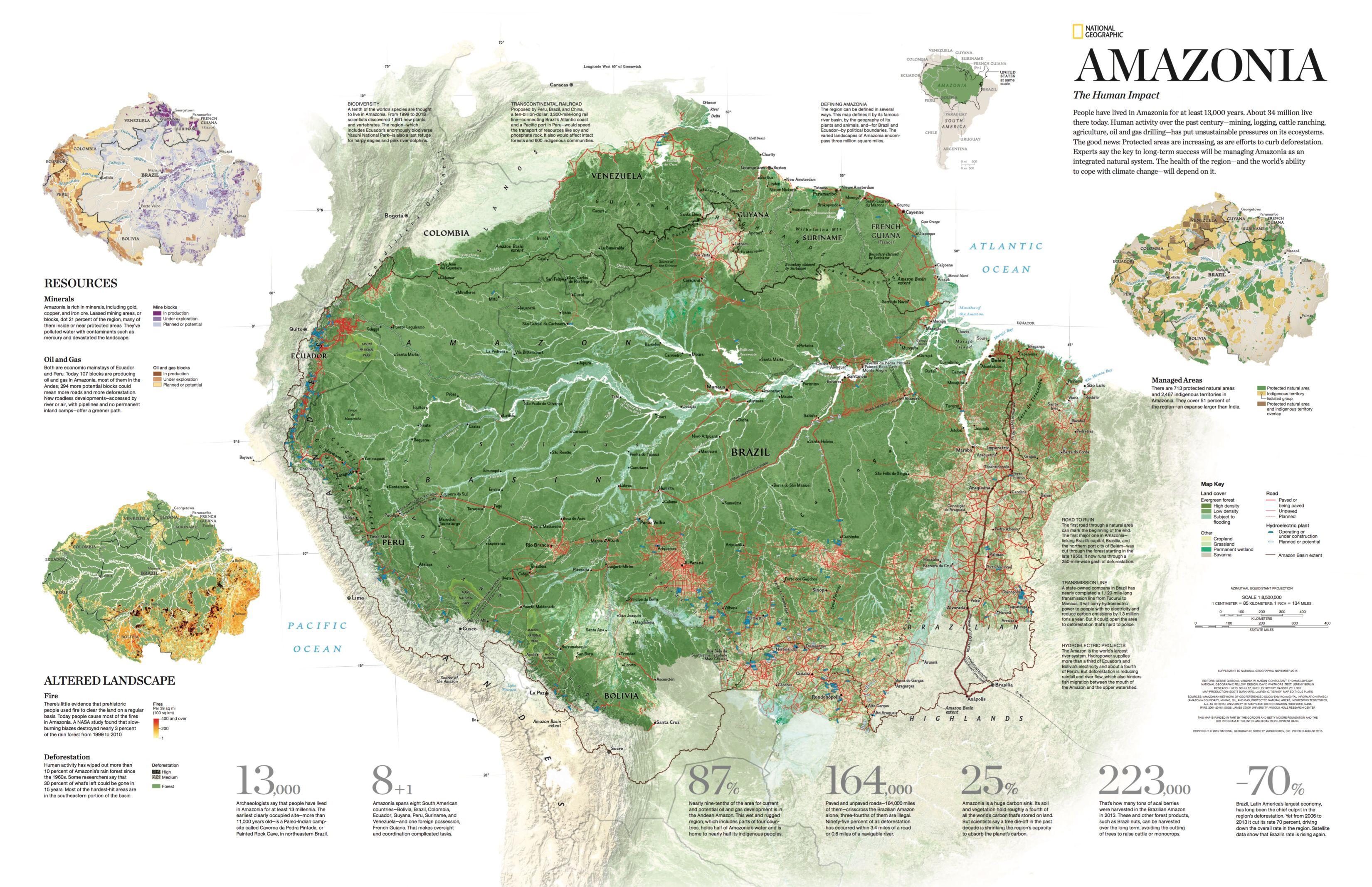 This Is Visual Journalism 144 Forest Map Amazon Rainforest