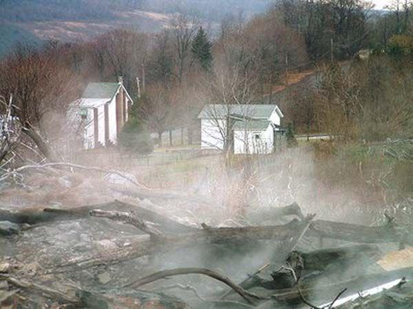 Centralia Pennsylvania Centralia Is The Real Life Silent Hill
