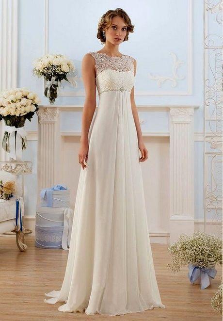 Brautkleid schlicht und elegant