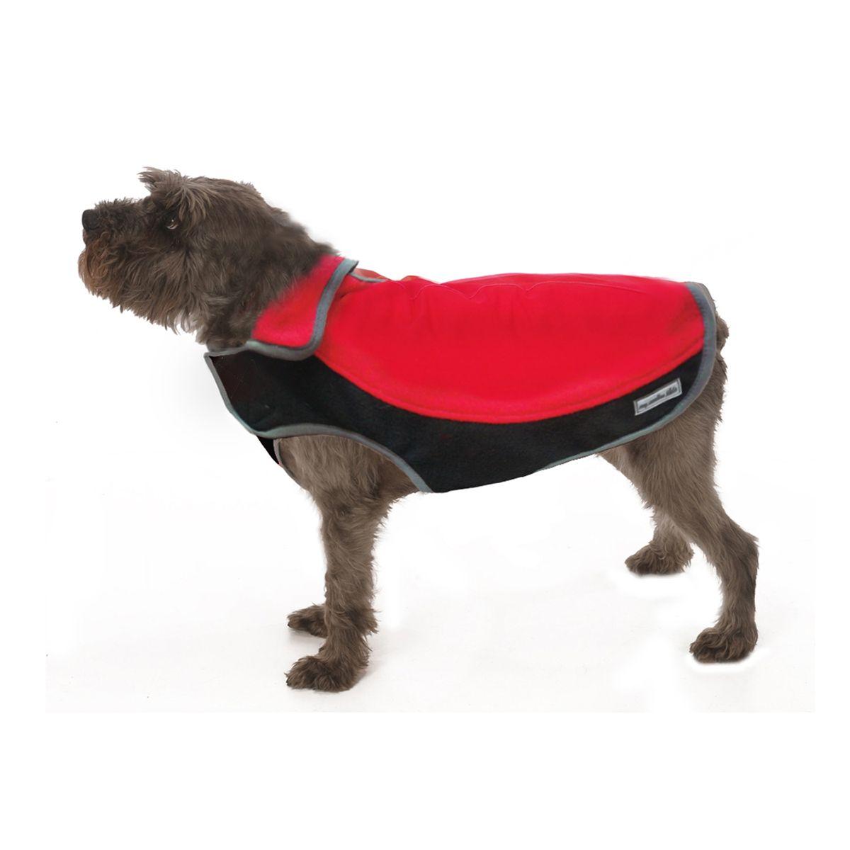Precision Fit Sport Fleece Dog Coat By My Canine Kids Red Dog Coats Fleece Dog Coat Large Dog Coats [ 1200 x 1200 Pixel ]